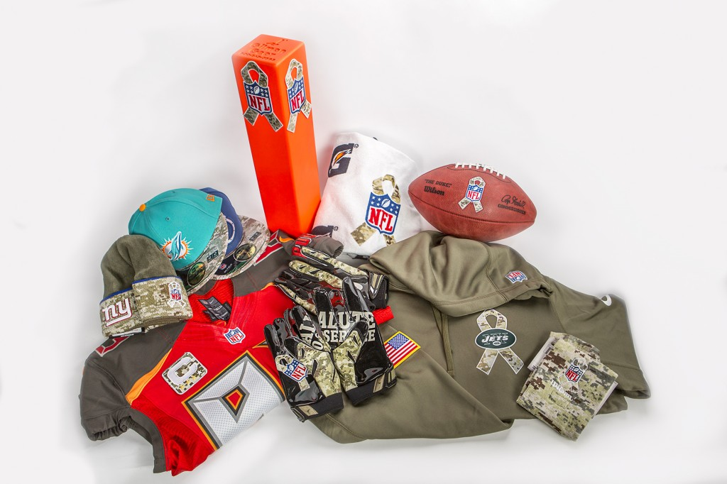 Salute to Service NFL Auction