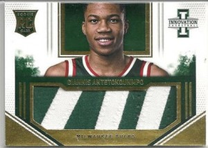 Panini Innovation Giannis Antetokounmpo