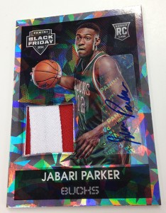 Jabari Parker autograph 2014 Panini Black Friday