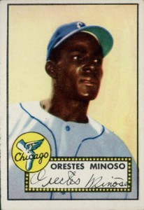 Minnie Minoso 1952 Topps