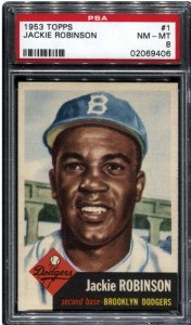 Jackie Robinson 1953 Topps