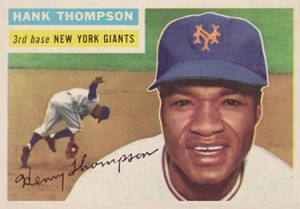 Hank Thompson 1956 Topps