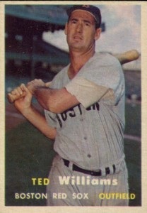 Ted Williams 1957 Topps