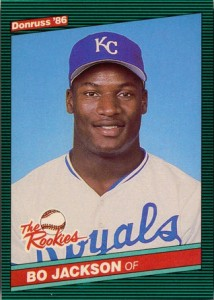 Bo Jackson 1986 Donruss The Rookies