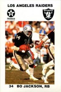 Bo Jackson 1988 Raiders police