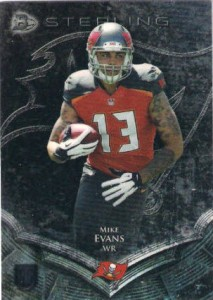 Mike Evans 2014 Bowman Sterling