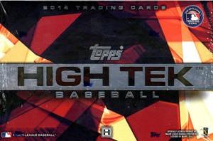 High Tek hobby box 2014 Topps