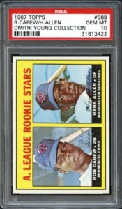 PSA 10 1967 Topps Rod Carew