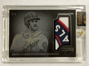 Bryce Harper 2014 Topps Dynasty 1/1
