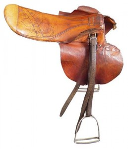 Seabiscuit saddle