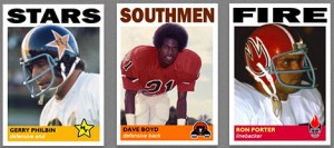 Series 3 WFL Trading Cards