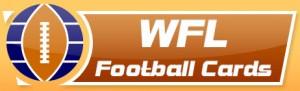 WFL Football Cards logo