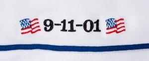 September 11 MLB jersey tag