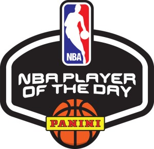 Panini NBA Player of the Day logo