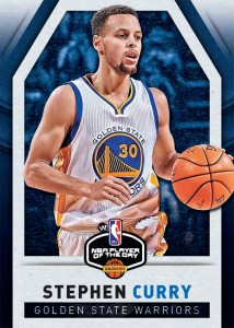 Steph Curry NBA Player of the Day