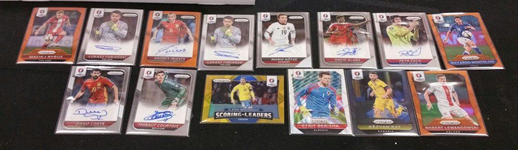 UEFA Prizm Soccer cards 2016