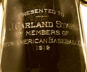 1912 Red Sox World Series trophy