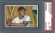 1951 Bowman Willie Mays rookie card