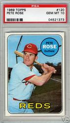 1969 Topps Pete Rose card sold for ,600