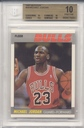 1987-88 Fleer Michael Jordan card graded BGS 10