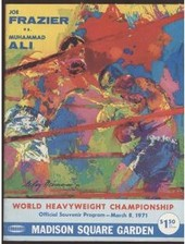 Ali vs Frazier program