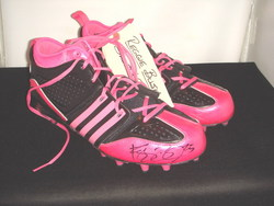 Reggie Bush game worn shoes