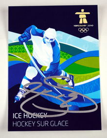 Signed Joe Thornton Olympic card