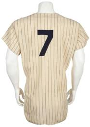 Late-1960s era Mantle jersey