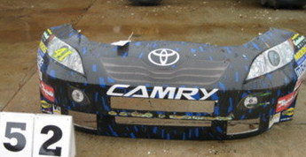 Jeremy Mayfield Toyota nose cone