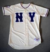 2009 Mets throwback New York Giants jersey