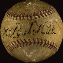 Babe Ruth 1926 home run ball