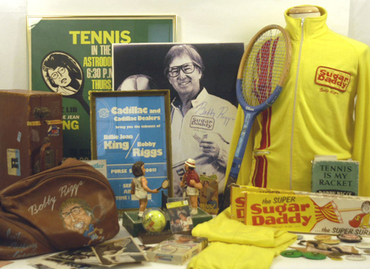 Tennis memorabilia up for auction