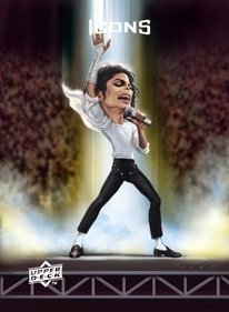 2009 Upper Deck UDx Icons Micheal Jackson