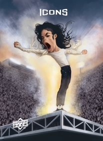 2009 UDx Michael Jackson card