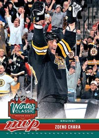 Zdeno Chara Upper Deck Winter Classic card
