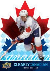 Upper Deck Clearly Canadian Wayne Gretzky