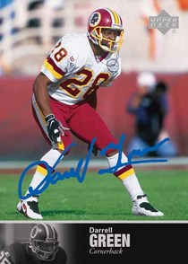 Darrell Green Ultimate Collection autograph