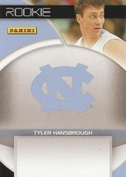 Tyler Hansbrough autograph-ready card