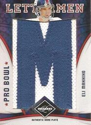 Leaf Limited Eli Manning Letterman patch