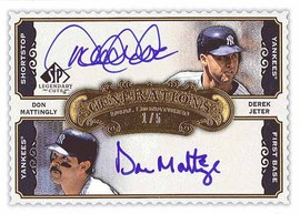2009 Legendary Cuts dual autograph
