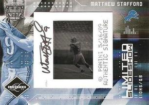 2009 Leaf Limited Slideshow Matthew Stafford
