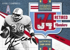 2009 Playoff National Treasures Earl Campbell