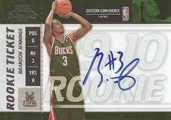 Playoff Contenders Rookie Ticket Autograph Brandon Jennings