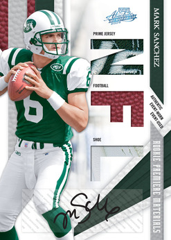 Rookie Premier Materials Mark Sanchez