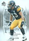 1993 SP Authentic Troy Polamalu Rookie Card