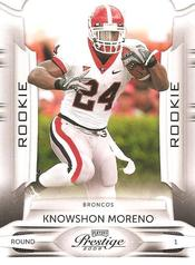 Prestige Football Knowshon Moreno Georgia