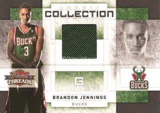 Panini Threads Brandon Jennings