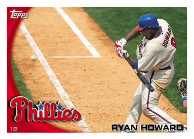 2010 Topps Ryan Howard