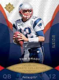 Ultimate Collection Tom Brady base card