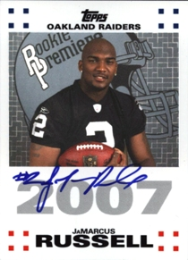 2007 topps JaMarcus Russell